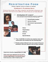 Community Planning Days Registration Form
